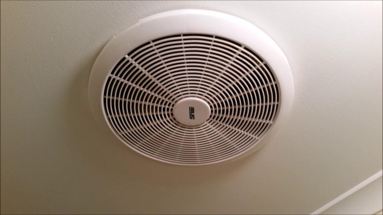 Sound effects of a Bathroom exhaust fan - YouTube