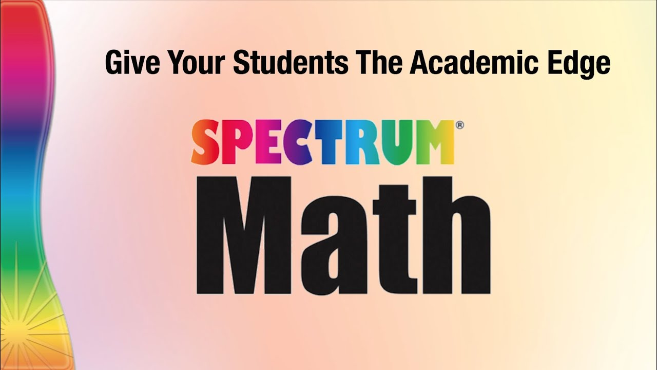 Spectrum Math Series From Carson Dellosa Publishing Group Youtube [ 720 x 1280 Pixel ]