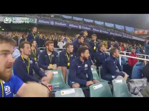 The moment you win 24-19 in Australia #AsOne