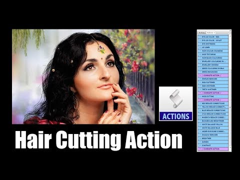 Sai PSD Creation Free Hair Cutting Action Download...