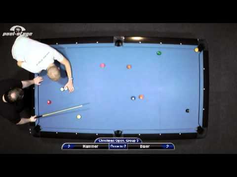 Christmas Open 2010 Hammer-Baier, 10-Ball, Pool Billard