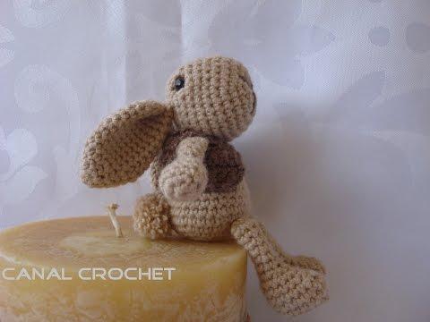 Amigurumis Conejos Paso A Paso : Títere de dedo de crochet con forma de conejo vix