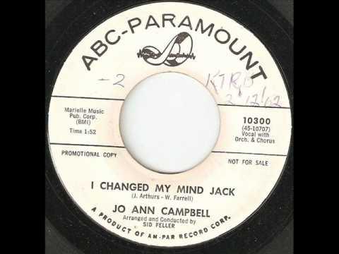 JO ANN CAMPBELL I Changed My Mind Jack ABC