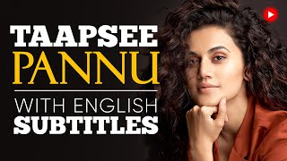ENGLISH SPEECH | TAAPSEE PANNU: Explore your Opportunities (English Subtitles)