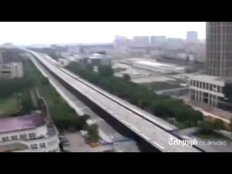[Video/Clip] Đánh sập cầu bê tông dài kỷ lục ở TQ
