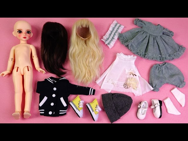 ??????? ?? ???? ?? ?????~? ???~?Ball-Jointed Doll-DOTORIES Loi Unboxing/BJD