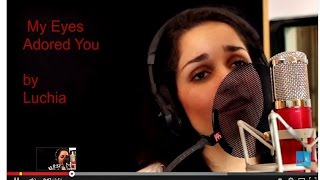 My Eyes Adored You Edit by Frankie Valli cover performed by Luchia