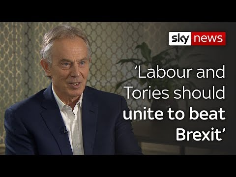 Sky News: Interview: Blair on customs union and second referendum