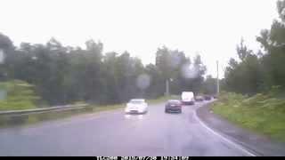 Дождь. Как доехать от Мега Икея Парнас до деревни Вартемяги, Всеволожского р-на, через Юкки