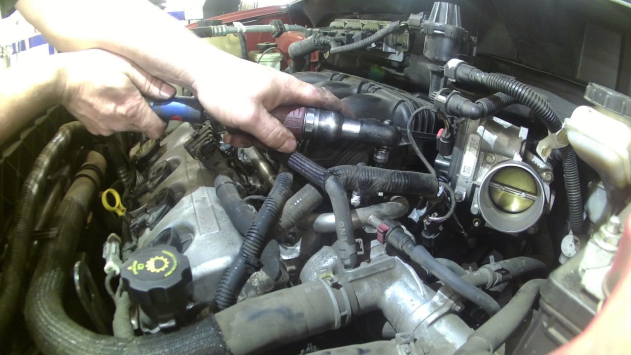 Intake manifold replacement 2007 Ford Edge 3.0L how to ...