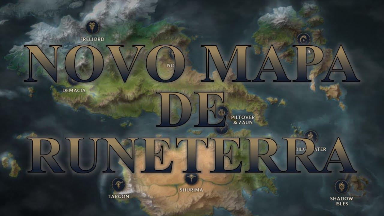 Novo Mapa De Runeterra Youtube