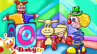 Colors and Toys | Play With Clowns, Horses and More Kids Toys 🤡 | BabyTV