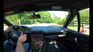 2000 BMW Z3 test drive!