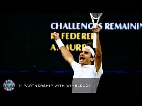 Roger Federer V Andy Murray (2012 Men's Final) - Rolex Wimbledon Golden Moments
