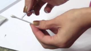 Видеоурок 11. Клеим ресницы (ленты)