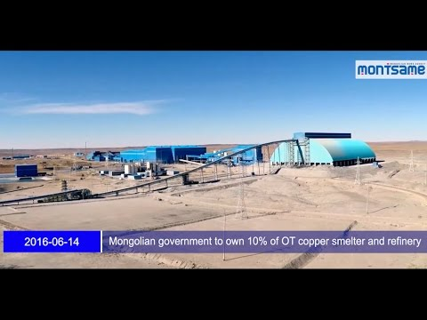 Mongolian government to own 10% of OT copper smelter and refinery
