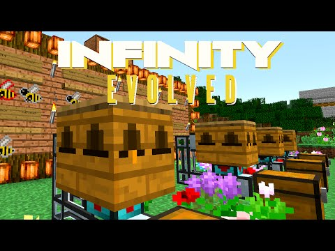 Minecraft Mods FTB Infinity Evolved - BASIC APICULTURE [E40] (Modded Expert Mode)