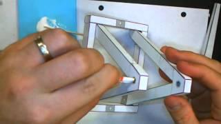 Paper Trebuchet Assembly