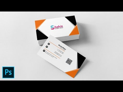 Graphic Designer Creative Business Card - Photoshop Tutorial thumbnail