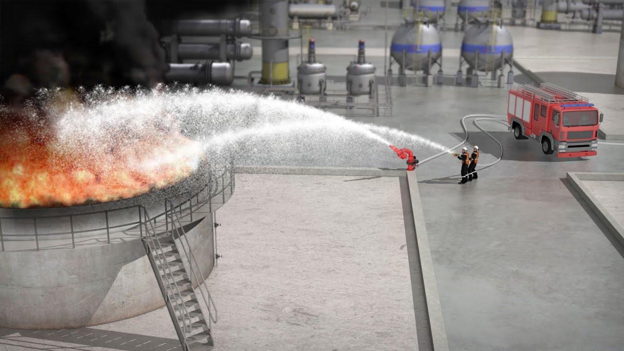 One Seven Druckluftschaum für Brandklasse B