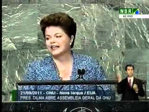 Discurso da presidenta Dilma Rousseff na abertura da Assembleia-Geral da ONU