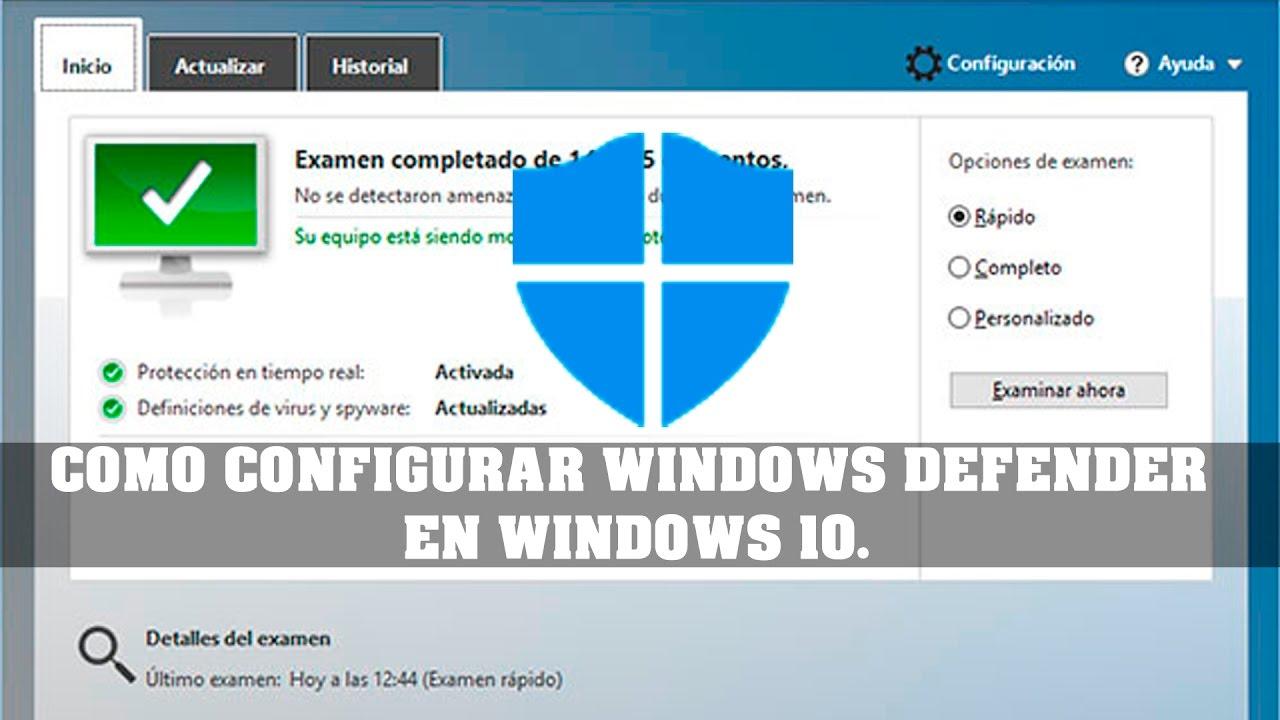 Windows Defender Windows 10 Ausreichend
