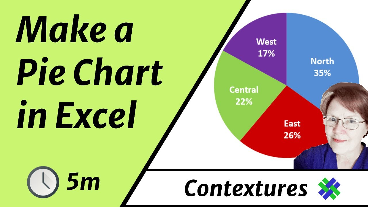 How To Make An Excel Pie Chart Youtube