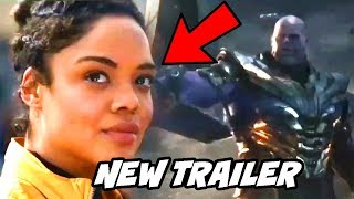 Valkyrie and Thanos First Look Avengers Endgame TV Spot Breakdown Hindi