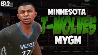 NBA 2K15 Minnesota Timberwolves My GM Ep.2 - Andrew Wiggins is a MONSTER!