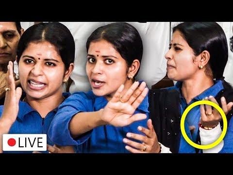 "🔴LIVE: ""கையை அறுத்தது ஏன்?"" - Bigg Boss 3 Madhumitha Emotional Press Meet"