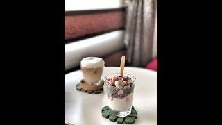 Chia Pudding ile Ara öğün / Sağlıkı Beslenme