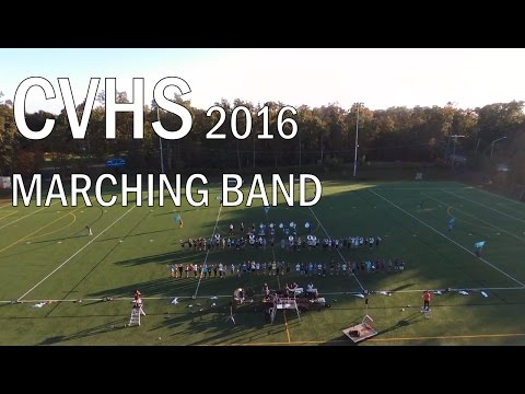 CVHS Marching Band 2016 - Bohemian Rhapsody in Blue Shades (10/18/16, Practice)