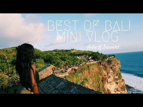Visit Indonesia ! My Top Too Visit Bali Sights - Travel Vlog recap