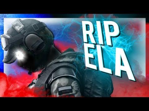 R.I.P Ela - Rainbow Six: Siege