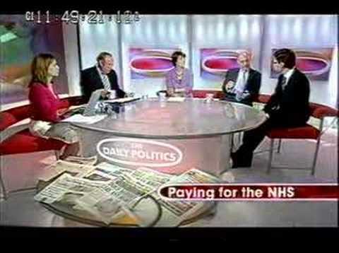 Andy Burnham 2 - Daily Politics interview NHS