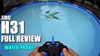JJRC H31 Waterproof Drone - Full Review - [UnBox, Inspection, Setup, Flight/Water Test]