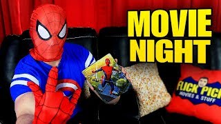 Watching SPIDER-MAN: Homecoming 4K Blu-ray