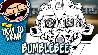 How to Draw BUMBLEBEE (Transformers Movie Franchise) | Narrated Easy Step-by-Step Tutorial