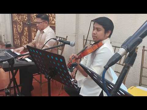 """BRIDAL MARCH """"Ikaw"""" Yeng C. WEDDING MUSICIANS MANILA PHILIPPINES - EVENTS MUSIC ENTERTAINMENT"""
