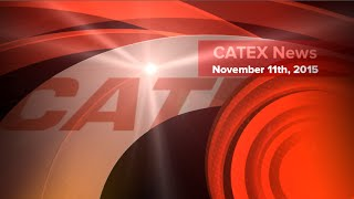 CATEX News for November 11, 2015: Two powerful earthquakes strike Chile  and more..