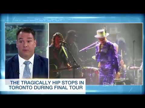 Tragically Hip Day - Gord Downie - BNN