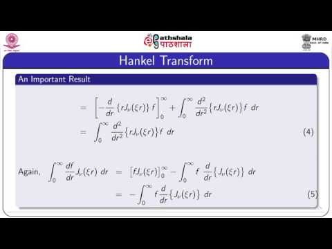 Application of hankel and  mellin transform to partial  differential equations (Maths)