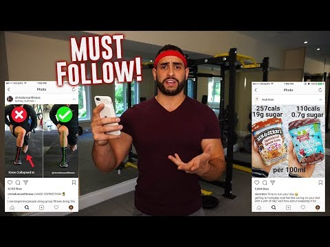 10 BEST Fitness & Nutrition INSTAGRAM Accounts to Follow (+1 BONUS Account)