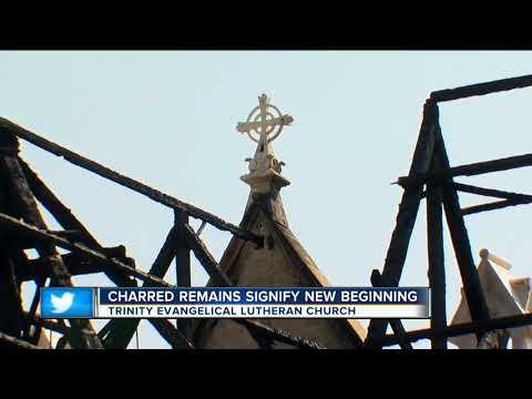 Trinity Lutheran Church suffers $17 million in fire damage