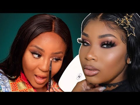 Aaliyah Jay does her makeup in 12 minutes...so I TRIED TOO! thumbnail