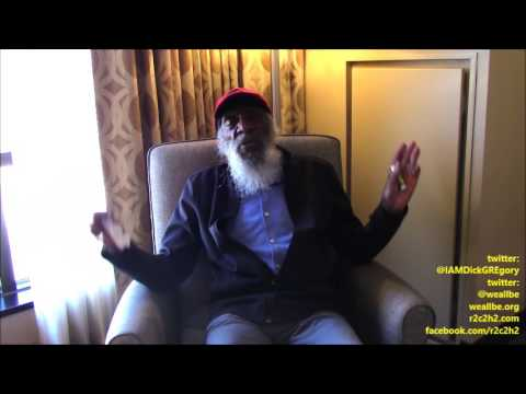 Feels Like A DREam: Dick GREgory On MLK (49 Yrs Later), Trump
