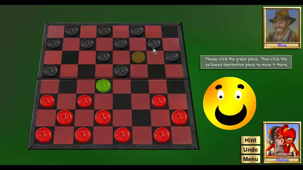 How to play checkers 17