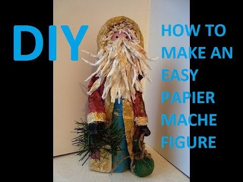 Ino Schaller Paper Mache Santa Collection | theantiquemarket.com | 360x480