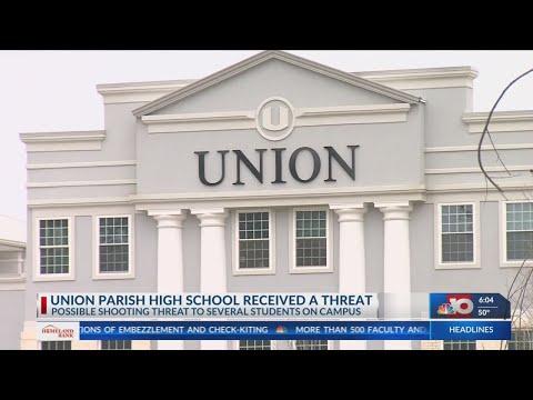 Union Parish High School Threat