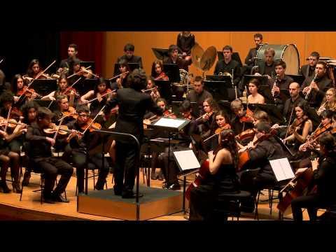 Wagner: Los maestros cantores (Preludio) - Orquesta Joven de la OSG - Rubén Gimeno (dir.)